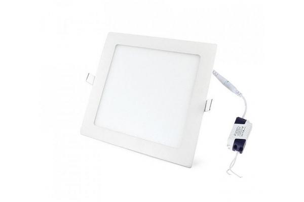 LED panel ČTVERCOVÝ BRGD0092 172x172x20mm vestavný - 12W - 230V - 860Lm - studená