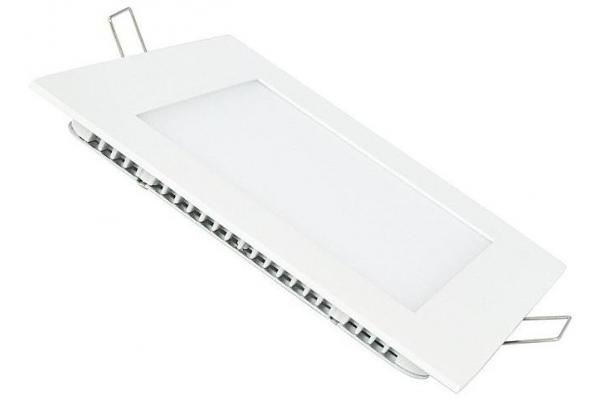 LED panel ČTVERCOVÝ BRGD0093 225x225x20mm vestavný - 18W - 230V - 1480Lm - studená