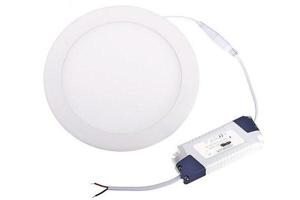 LED panel KRUHOVÝ BRGD0110 - 300x300x17mm vestavný - 24W - 230V - 1900Lm - studená