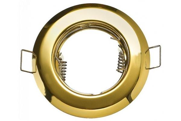 Podhledové bodové svítidlo kruhové NEVÝKLOPNÉ BRG70005 zlatá