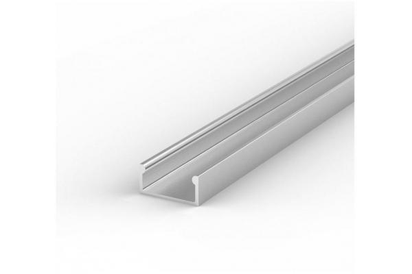 Hliníkový Profil pro LED pásky BRG-4 1m ELOXOVANÝ