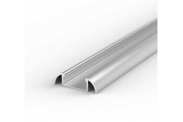 Hliníkový Profil pro LED pásky BRG-2 1m ELOXOVANÝ