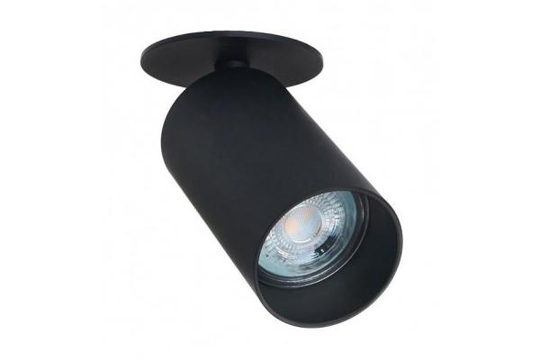 Svítidlo LED LUNGO 1x GU10 zápustné černý