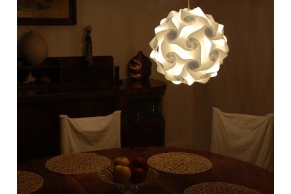 Lampa lumin N2 průměr 27 cm...