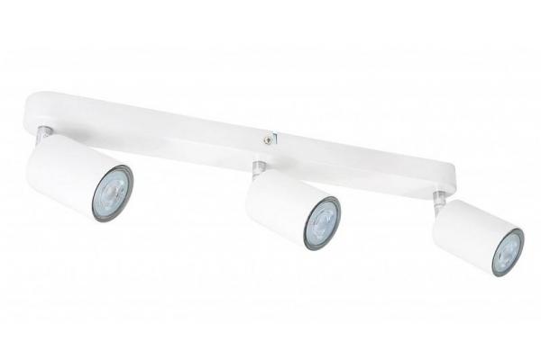 Stropní svítidlo LED VIKI 3x GU10 bílá