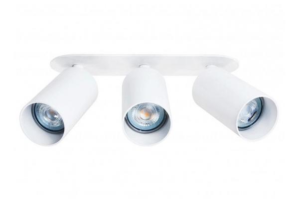 Svítidlo LED LUNGO 3x GU10 zápustné bílé