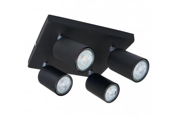 Stropní svítidlo LED VIKI 4x GU10 černá