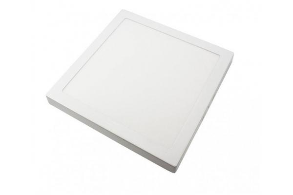 LED panel ČTVERCOVÝ D0133 300x300x35mm přisazený - 24W - 230V - 1700Lm - neutrální bílá