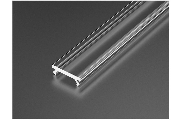 Transparentní difuzor 2m pro LED profily - P01 - P02 - P03