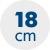 výška matrace 18 cm